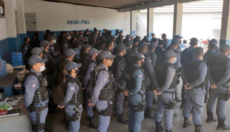 Polícia Militar e Polícia Civil desencadeiam operação Ilha Segura na área do 21º BPM