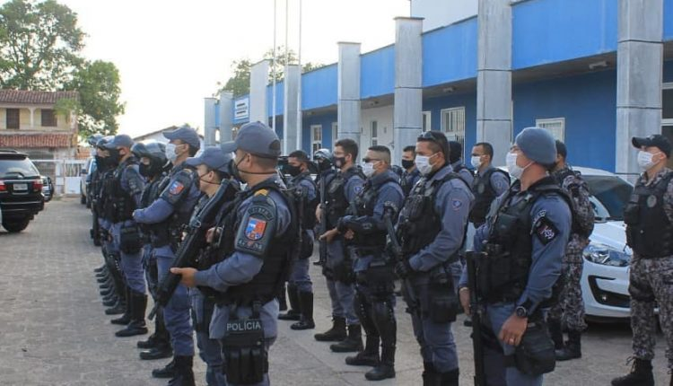 Polícia Militar e Civil desencadeiam Operação Integrada no Polo Coroadinho