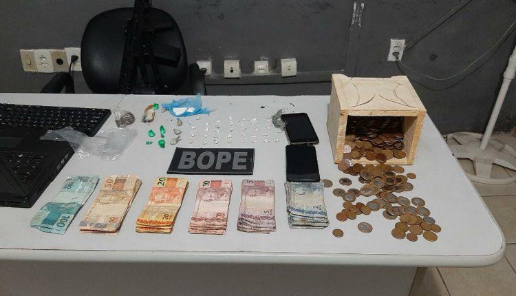 Três pessoas são presas por tráfico de drogas em Apicum Açu-MA