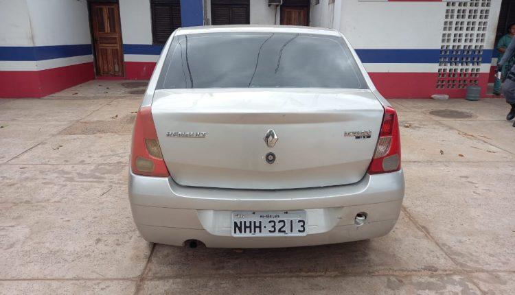 Veículo roubado é apreendido por policiais do 1º BPM