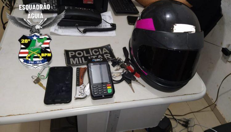 PMMA prende indivíduo por tentativa de feminicidio em Anajatuba – MA