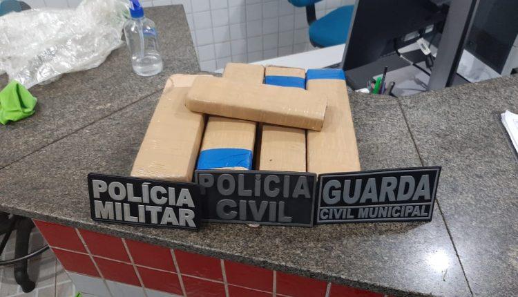 Cinco pessoas são presas por tráfico de drogas em Alcântara