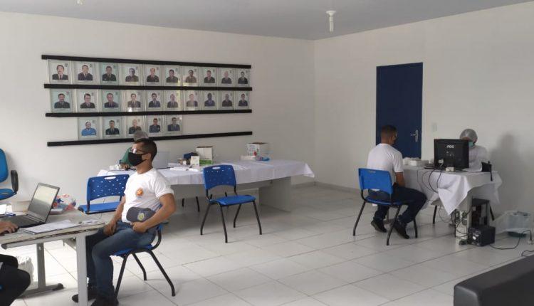 TESTES DA COVID 19 SÃO REALIZADOS NO CFAP