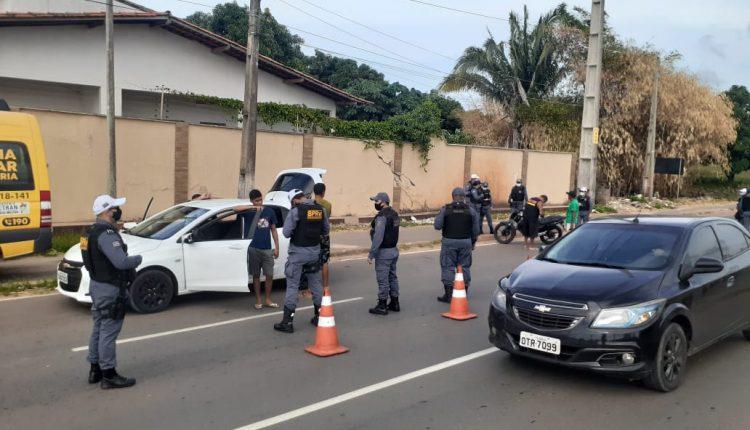 POLÍCIA MILITAR REALIZA OPERAÇÃO FECHA QUARTEL