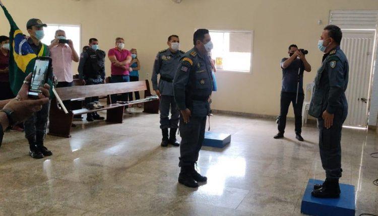 SOLENIDADE DE PASSAGEM DE COMANDO DO 23º BATALHÃO DA POLÍCIA MILITAR EM SÃO MATEUS-MA