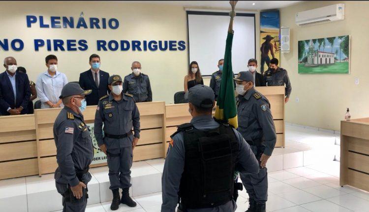 SECRETÁRIO DE SEGURANÇA E COMANDANTE GERAL DA PMMA PARTICIPAM DA SOLENIDADE DE PASSAGEM DO COMANDO DO 25º BPM
