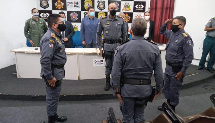 POLICIA MILITAR REALIZA PASSAGEM DE COMANDO DO 9º BPM